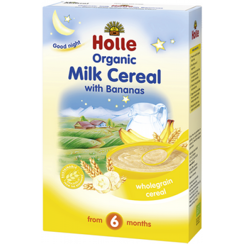 250g Holle Milk Cereal & Bananas 有機香蕉牛奶粥